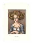 Bridal Crown of a Noble Woman of Nuremburg, 16th Century Giclee Print by Jakob Heinrich Hefner-Alteneck