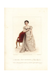 Harriet Smithson in Wives as They Were, 1822 Giclee Print by George Clint