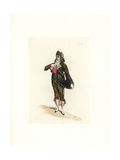 Costume of Saint-Amour, Cabinet Member and Incroyable Giclee Print by Auguste Etienne Guillaumot