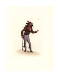Costume of Courtier-Marron, Agent Provocateur Giclee Print by Auguste Etienne Guillaumot
