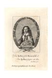 Robert Baron, Poet, Aged 19 Giclee Print by W. Marshall