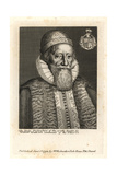 Sir William Wadd, Lieutenant of the Tower of London, 1614 Giclee Print