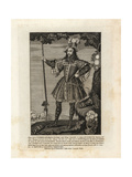 George Clifford, Earl of Cumberland, Dressed for a Tournament Giclee Print by R. White