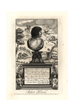 Robert Herrick, 17th Century English Poet Giclee Print by W. Marshal