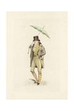 English Man in the Fashion of May 1802 Giclee Print by Auguste Etienne Guillaumot