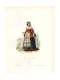 Woman of Velletri, Italy, 1581 Giclee Print by Hippolyte Pauquet