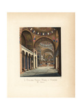 Saint Mark's Basilica, Venice, 11th Century Giclee Print by Paul Mercuri