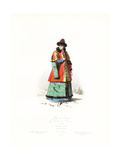 Boyar Girl, Grand Duchy of Moscow, 17th Century Giclee Print by Polydor Pauquet