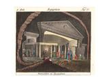 Catacombs of Kom El Shoqafa, Alexandria, Egypt Giclee Print