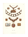 German Jewelry, Early 16th Century Giclee Print by Jakob Heinrich Hefner-Alteneck