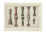 Indian Marble Columns Giclee Print by Robert von Spalart