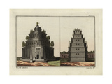Tombs of Augustus and of Septimius Severus Giclee Print by Robert von Spalart