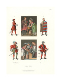 German Male Costume of the First Half of the 16th Century Giclee Print by Jakob Heinrich Hefner-Alteneck