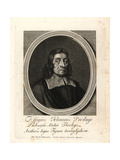 John Pordage (1607–1681), Priest, Astrologer, Alchemist and Mystic Giclee Print by William Faithorne