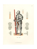 German Knight in Jousting Armor, Mid 16th Century Giclee Print by Jakob Heinrich Hefner-Alteneck