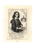 John Hoddeston (1632-1659), Poet and Religious Writer Giclee Print by T. Cross
