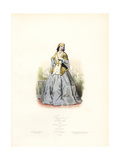 Dancing Girl of Shemakha, Azerbaijan, 1820 Giclee Print by Polydor Pauquet