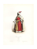 Master of the Court of Ethiopia, 1590 Giclee Print by Hippolyte Pauquet