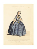 Costume of an English Lady, Circa 1746 Giclee Print by Thomas Hailes Lacy