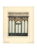 Shopfront of a Fashion Boutique, Paris, Circa 1800 Giclee Print by Hector-Martin Lefuel