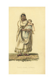 Dace or Ayah, Indian Nurse, with European Child Giclee Print