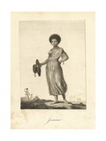 Joanna, a Mulatto Slave Who Became Stedman's Wife Giclee Print by John Gabriel Stedman