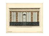 Shopfront of the Rocher De Cancal Restaurant, Paris, Circa 1800 Giclee Print by Hector-Martin Lefuel