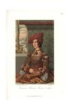 Bianca Maria Sforza, Wife to Holy Roman Emperor, Maxilian I Giclee Print by Jakob Heinrich Hefner-Alteneck