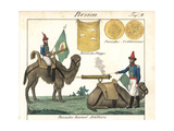 Persian Camel Artillery: Bombardiers Firing Cannons from Saddles Giclee Print