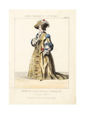 Costume of a French Lady, Circa 1650 Giclee Print by Thomas Hailes Lacy