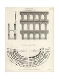 Wilson Lowry - Roman and Veronese Ampitheatres - Giclee Baskı