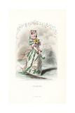 Eglantine Rose Flower Fairy, Rosa Eglantera Giclee Print by Jean Ignace Grandville