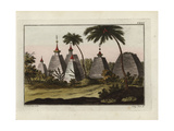 Indian Pagodas Giclee Print by Robert von Spalart
