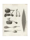 Pneumatics of Aerostation with Aeolipile Giclee Print by Wilson Lowry