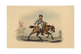 French Avant Courier, Circa 1815 Giclee Print