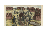 Guinean King's Funeral Giclee Print