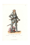 Johann or Jos Niklaus, Count of Hohenzollern, 1513-1558 Giclee Print by Jakob Heinrich Hefner-Alteneck