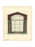 Shopfront of Masson's Tinsmith and Lampmaker, Paris, Circa 1800 Giclee Print by Hector-Martin Lefuel