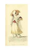 Bhugtee or Dancing Boy, India Giclee Print