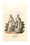 Costume of the Druidical Order of the Pre-Roman Era Giclee Print by Charles Hamilton Smith