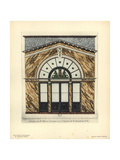 Shopfront to Martin's Caterers, Paris, Circa 1800 Giclee Print by Hector-Martin Lefuel