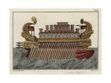 Admiral Vessel of Philopater Ptolemy Giclee Print by Robert von Spalart