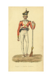 Sepoy, Sipahee or Native Indian Soldier Giclee Print