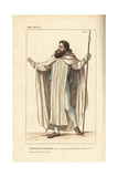 Elite Knight Templar, 13th Century Giclee Print by Leopold Massard