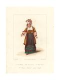 Maria Bland in Monsieur Tonson, 1822 Giclee Print by Samuel de Wilde