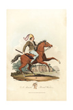 Mounted British Warrior from the Pre-Roman Era Giclee Print by Charles Hamilton Smith