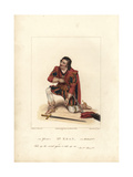 Edmund Kean in Richard III, 1822 Giclee Print by George Clint