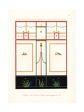 Murals from the House of the Tragic Poet, Pompeii Giclee Print by Wilhelm Zahn