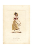 Miss Lise Noblet, Dancer in La Paysanne Supposee, 1822 Giclee Print by Frederic de Waldeck
