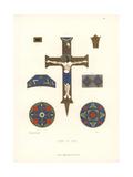 Reliquary Cross Giclee Print by Jakob Heinrich Hefner-Alteneck